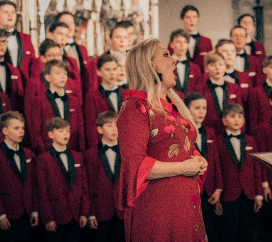 ANNELY PEEBO & TALLINN BOYS CHOIR IN NIGULISTE, DECEMBER 2019