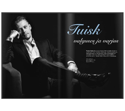 PULSS MAGAZINE / ACTOR TAMBET TUISK IN AMANJEDA