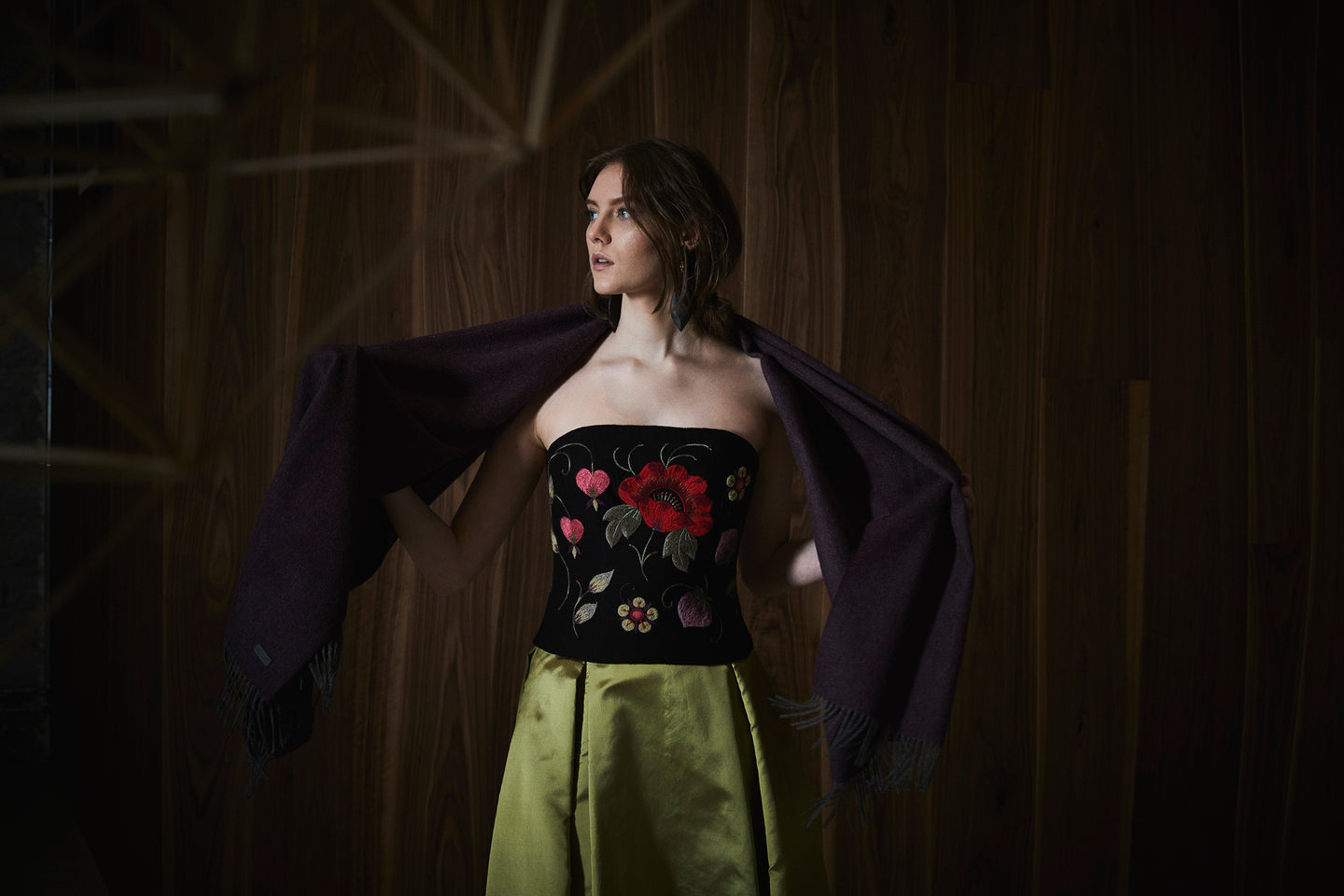 AMANJEDA by Katrin Kuldma Muhu Couture with unique embroideries, Amanjeda iconic designs, Muhu heritage