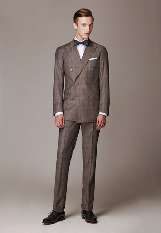 Formal Suit made of soft wool flannel