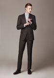 Sky Traveller Suit, made of Loro Piana High Performance Travel Wool