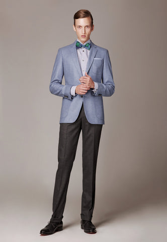 Suit made of Loro Piana Superfine Wool