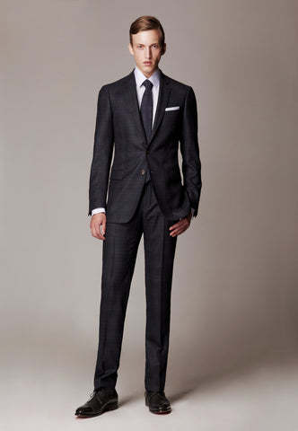 Blue Suit made of Fra. Angelico / Biella / Superfine Wool / Amanjeda Seasonal Collection