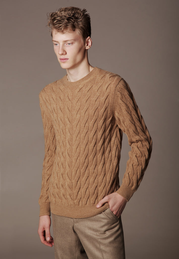 Sweater made of Loro Piana Premium Cashmere yarn