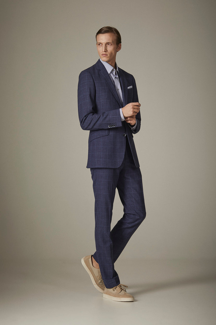 "Suit ""MILANO"" / Wool, silk & linen by Loro Piana"