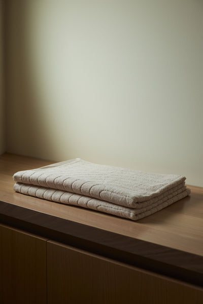 Cove Bath Towel ~ Clay