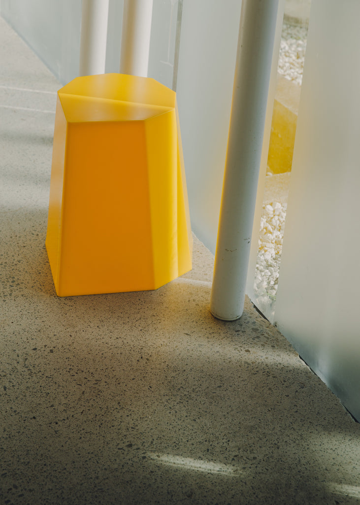 Arnold Circus Stool Yellow