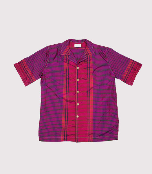 Ceylon Shirt - Purple Check/2