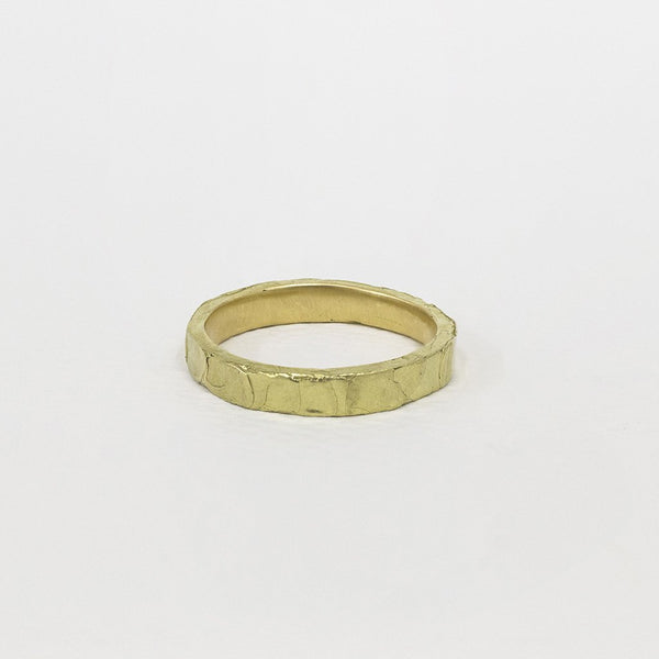 Melting Ring 01 18ct Gold