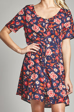 Diane Denim Button Up Dress,