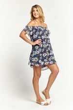 Willow Navy Button Down Dress, Dresses