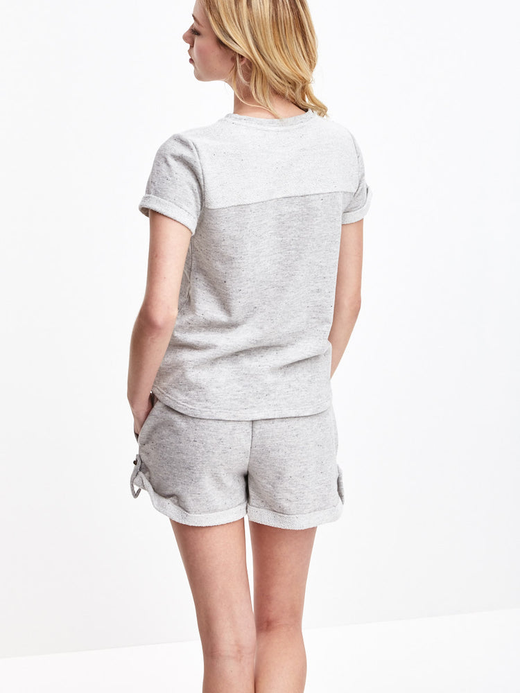 Heather Grey French Terry Shorts, sale