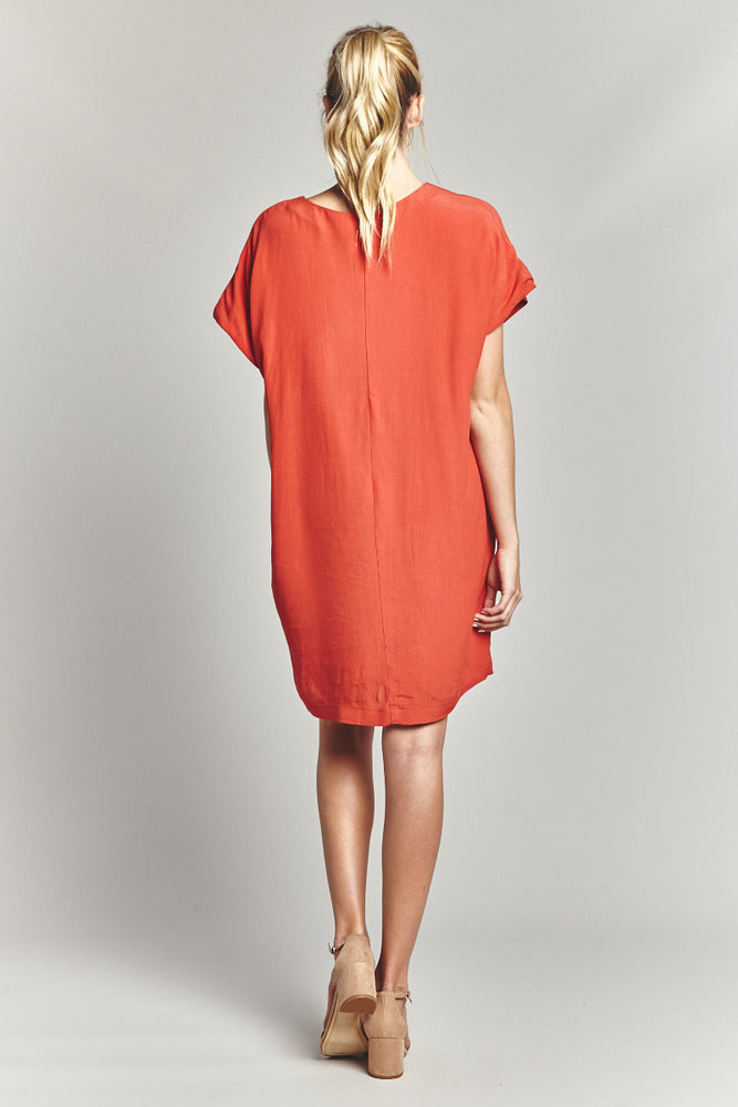 Rust Over-Size Dress, Dresses