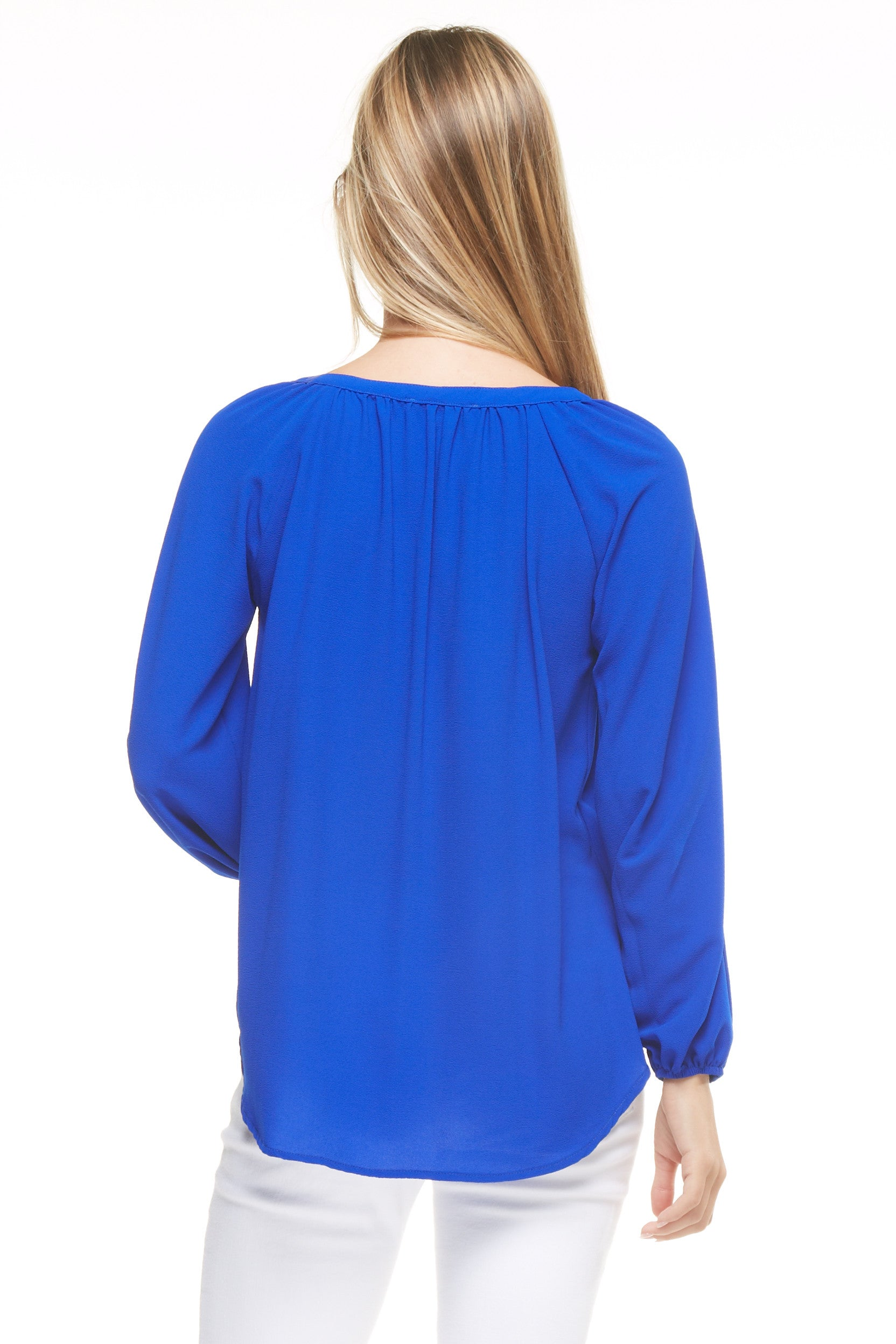 Button Front Blouse, Tops