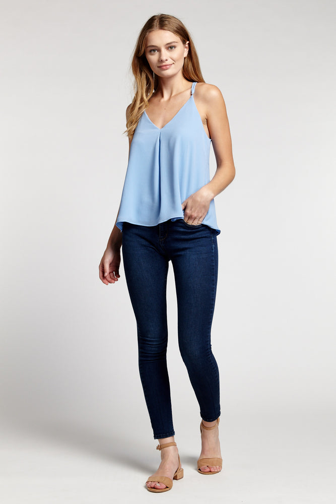CHAMBRAY Lined Cami Prepack