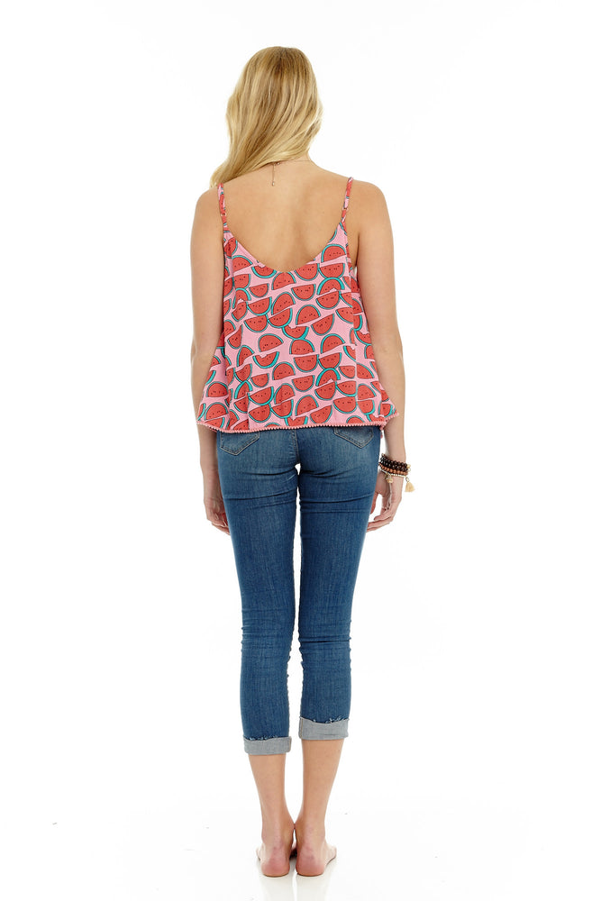 Watermelon Swing Cami, Tops