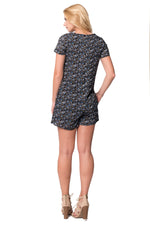 Muscari Short Sleeve Romper, Dresses