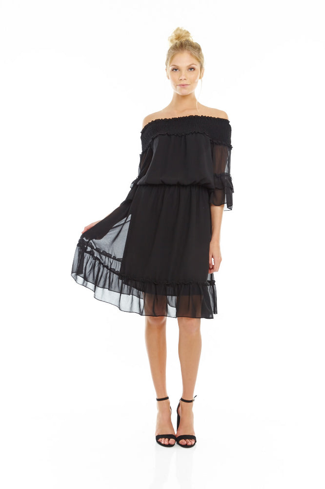 Senorita Off Shoulder Dress