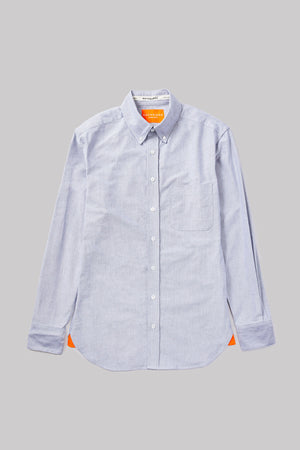 Open image in slideshow, GREY OXFORD BUTTON DOWN