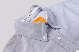 GREY OXFORD BUTTON DOWN