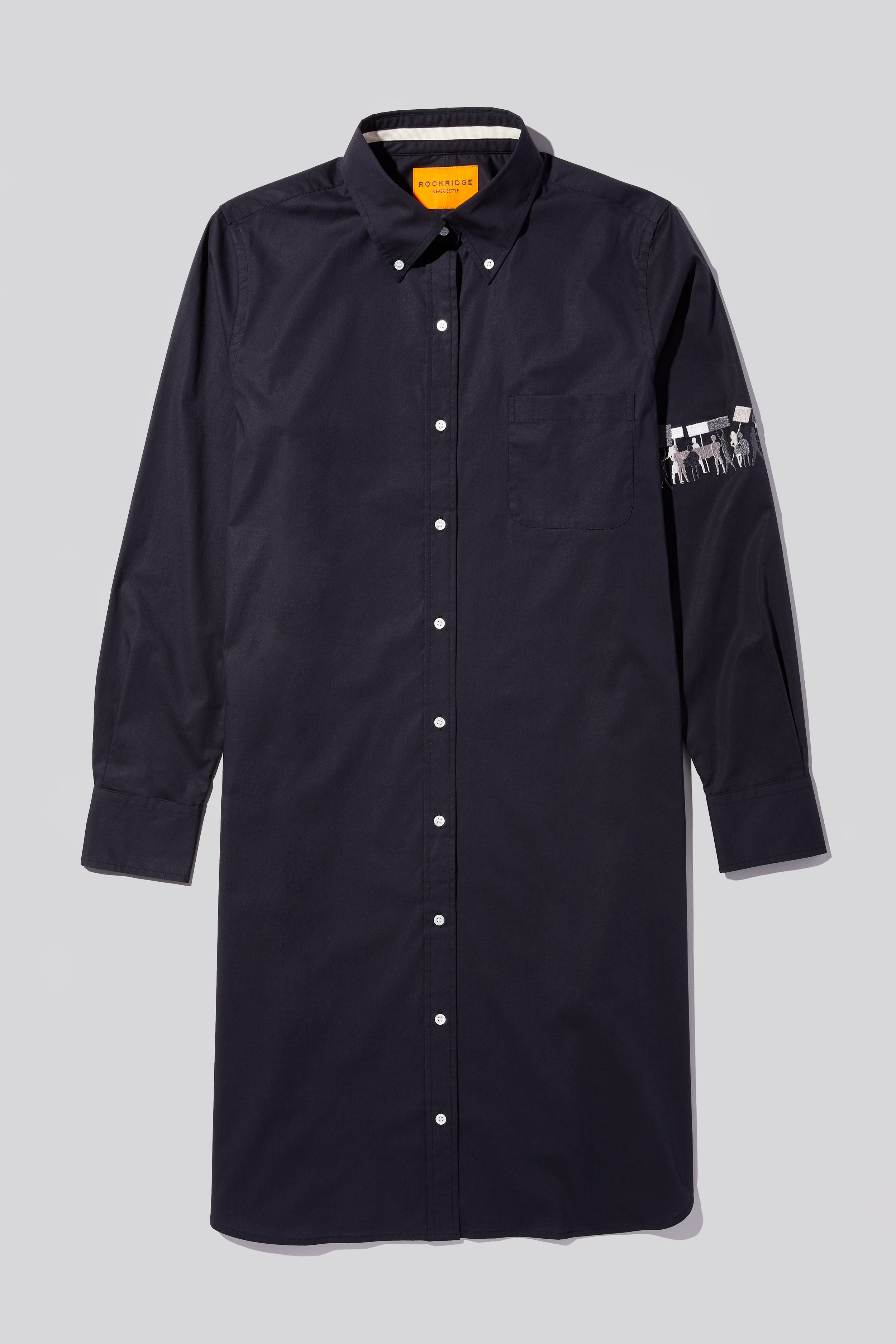 1619 AND BEYOND - WOMENS BUTTON DOWN SHIRT