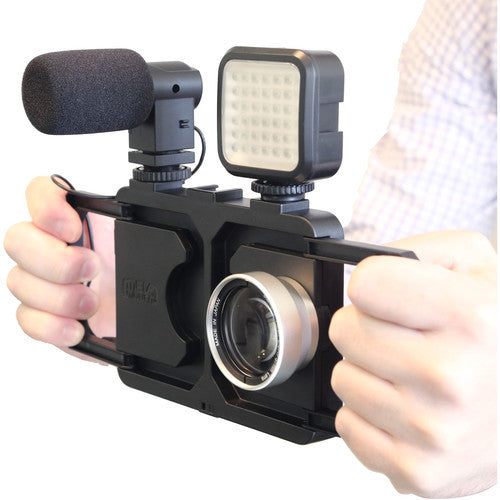 Melamount Video Stabilizer Pro Multimedia Rig Case for iPhone 6/6s