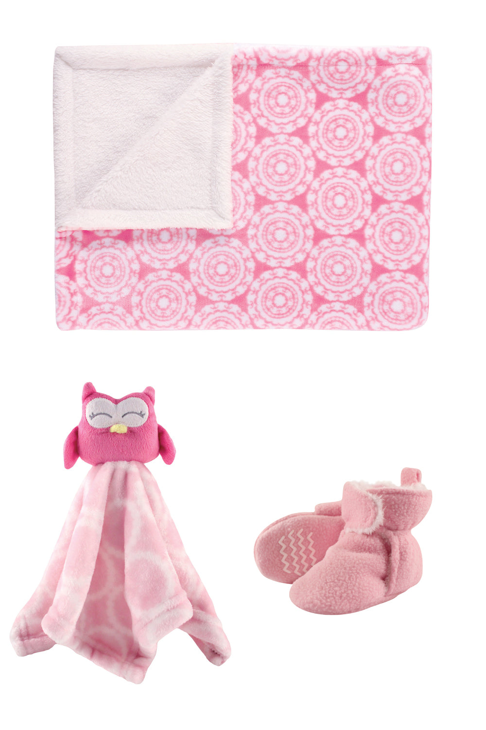 Octavia the Owl Light Pink Snuggle Set