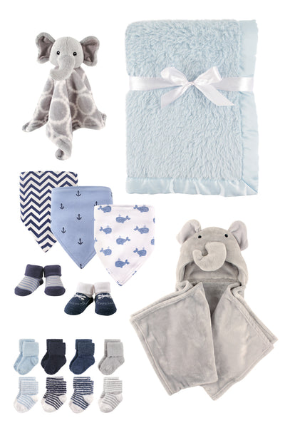 Premium Elephant and Anchor Snuggle Set