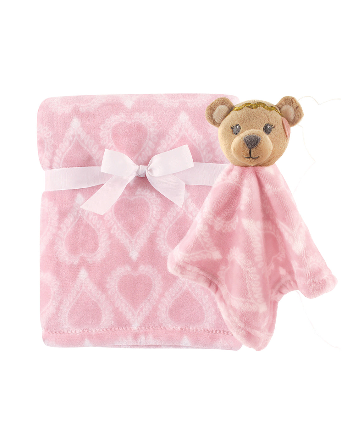 Baby Bear Security Blanket Set