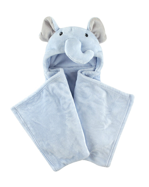 Baby Boy Elephant Hooded Blanket