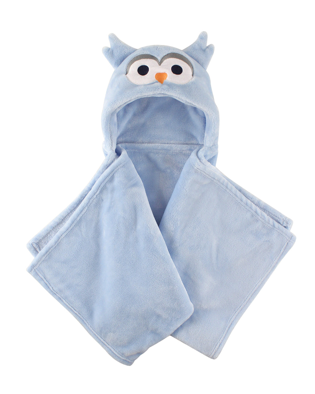 Blue Owl Hooded Blanket
