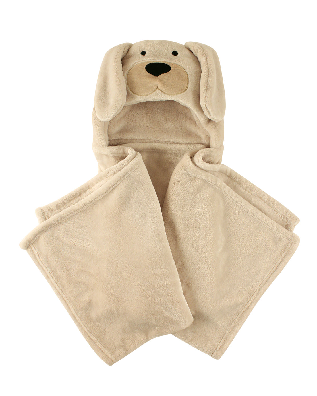 Little Pup Hooded Blanket