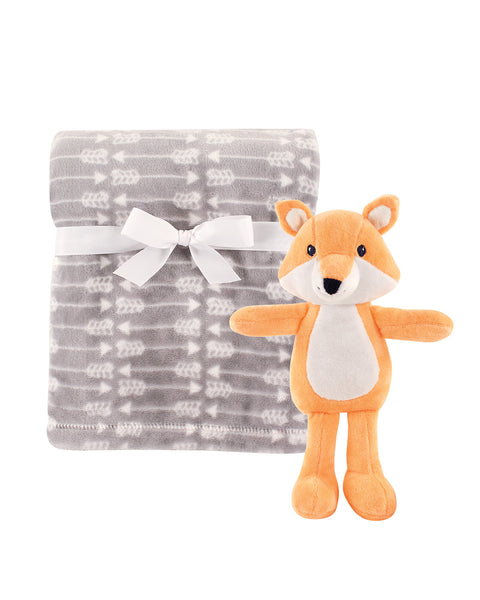 Feather Arrow and Fox Snuggle Set