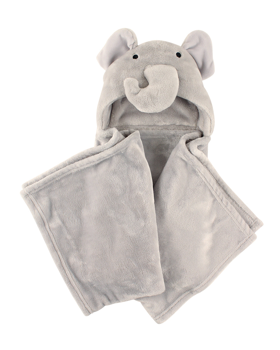 Earl Grey Elephant Hooded Blanket