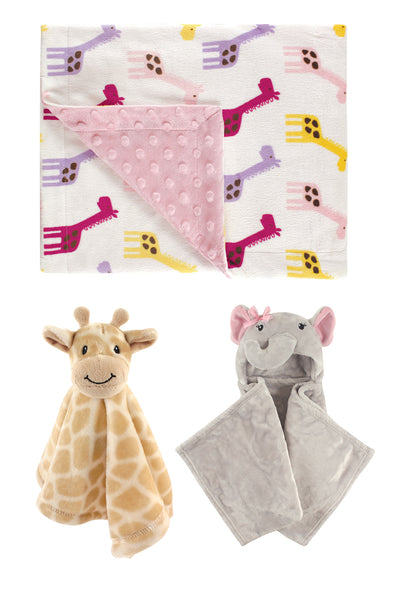 Baby Girl Soft Safari Set