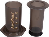 AeroPress Coffee and Espresso Maker and 350 Additional Filters - Quickly Makes Delicious Coffee Without Bitterness - 1 to 3 Cups Per Press