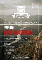 Brazil - Familia Peixoto - Red Bourbon - Direct Trade
