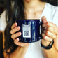 Blue Ceramic Mug (Fall 2018)