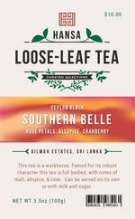 Southern Bell - 3.5 ounces - Loose Leaf Tea