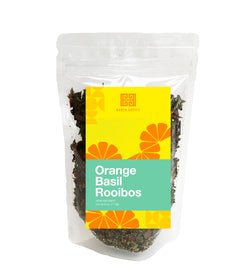 Orange Basil Rooibos - 4.5 ounces - Loose Leaf