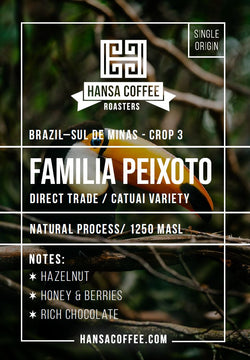 Brazil - Familia Peixoto - Crop Year 3 - Direct Trade