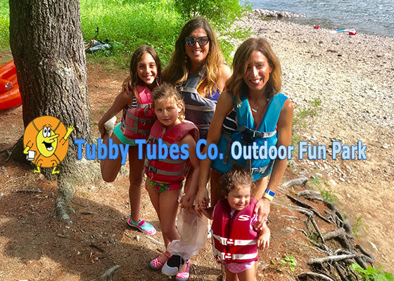 Tubby Tubing with our Tribe