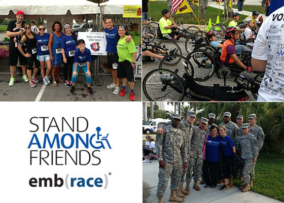 Don't Miss The 7th Annual Stand Among Friends emb(race)!
