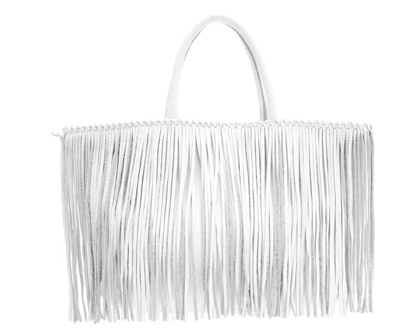Jennifer Haley - Fringe Tote Shopper - Jennifer Haley Handbags