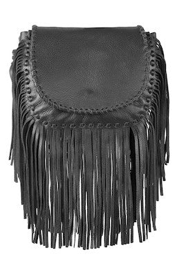 Jennifer Haley - Mini Bohemian Black - Jennifer Haley Handbags