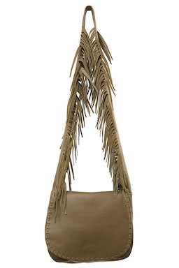 Jennifer Haley - Fringe Strap Messenger - Jennifer Haley Handbags