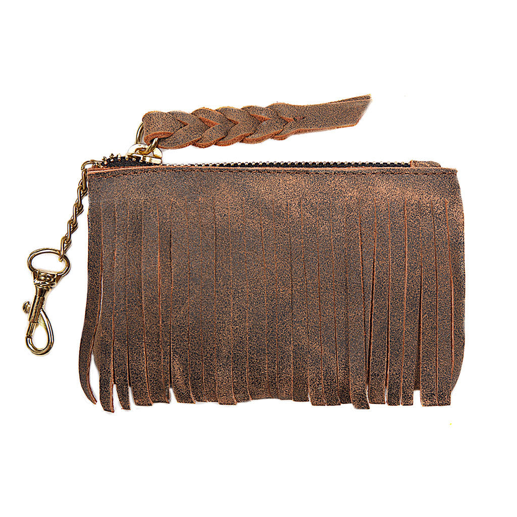 Jennifer Haley - Fringe Coin Purse - Jennifer Haley Handbags