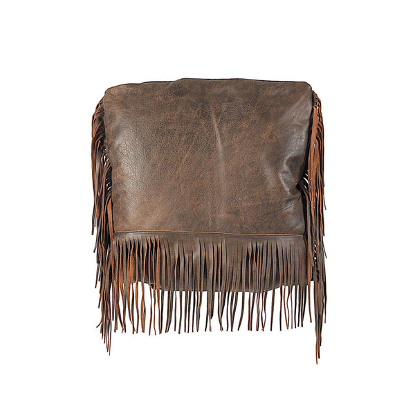 Jennifer Haley - Fringe Pillow - Jennifer Haley Handbags
