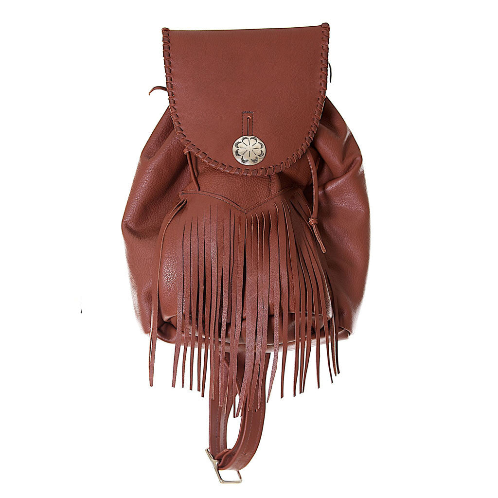 Jennifer Haley - Back Bag With Fringe - Jennifer Haley Handbags