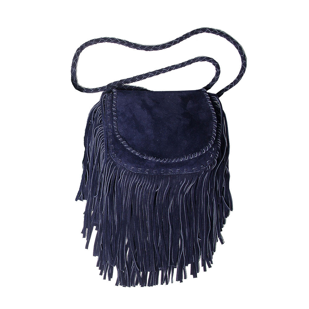 Jennifer Haley - Mini Suede Bohemian - Jennifer Haley Handbags